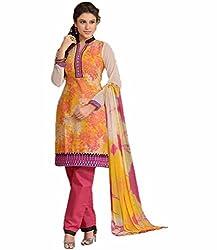 Sinina Women's Cotton Unstitched Dress Material (25LWB296_Multi-Coloured_Free Size)
