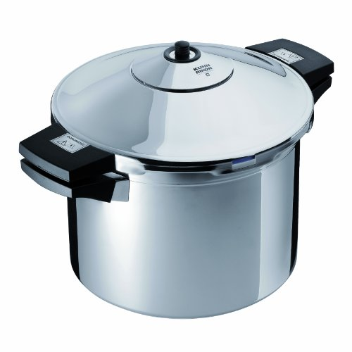 Kuhn Rikon Duromatic Inox Pressure Cooker With Side Grips (22cm), 8.0 Litre