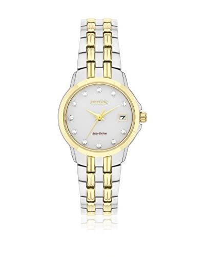 Citizen Watch Reloj Silhouette Crystal Plateado / Dorado 26 millimeters