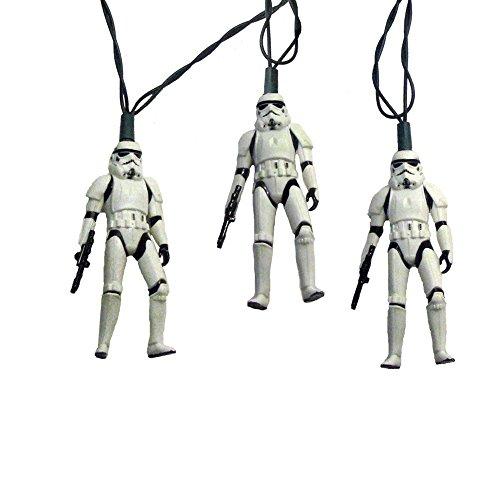 Kurt Adler UL 10-Light Star Wars Storm Trooper Light Set