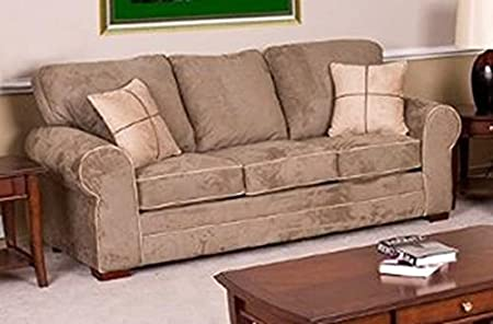 Chelsea Home Furniture Tammy Sofa, Dynasty Chamois