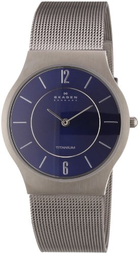 Skagen Gents Blue Face Watch - 233LTTN