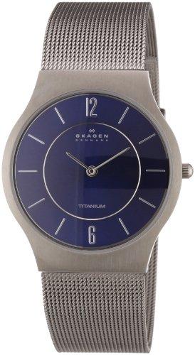 Skagen Gents Blue Face Watch - 233LTTN