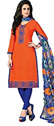 Vivacity Women's Silk Unstitched Dress Material (Singles-5_Multi_Free Size)