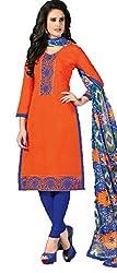 Vivacity Women's Silk Unstitched Dress Material (Singles-5_Multi_Free Size)