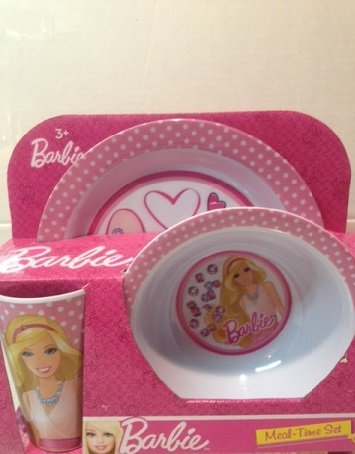 Barbie Meal-time Set 3 Piece