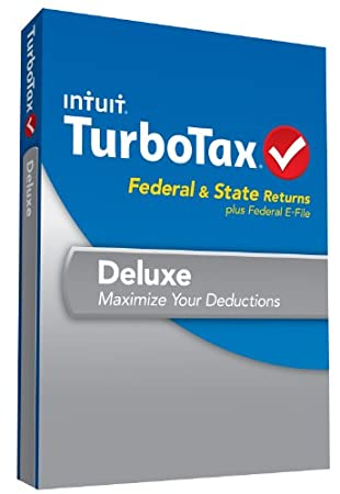 TurboTax Deluxe Fed, Efile and State 2013 with Refund Bonus Offer