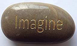 Imagine Engraved Inspirational Stones Keepsakes Or Gifts To Family & Friends (New Words)