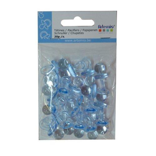 Artemio 11060122 20 Plastic Dummies Blue - 1