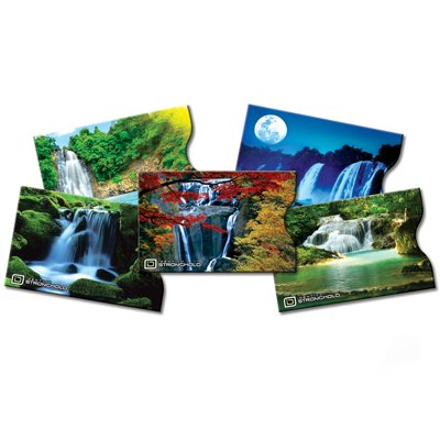 identity-stronghold-designer-sleeves-waterfall-collection-5-credit-debit-card-sleeves