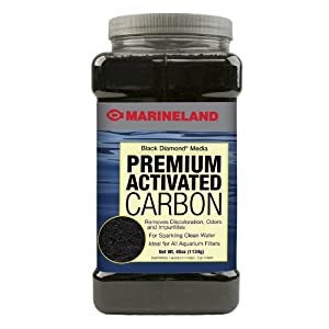 Marineland PA0373 Black Diamond Activated Carbon 40-Ounce, 1134-Gram