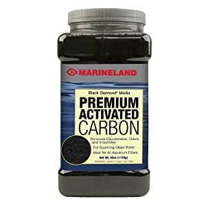 Marineland PA0373 Black Diamond Activated Carbon, 40-Ounce, 1134-Gram