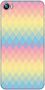 Snoogg Rainbow clear colourful Designer Protective Back Case Cover For Micromax Canvas Fire 4 A107