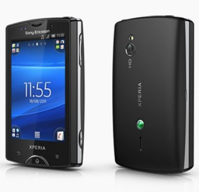 SONY XPERIA mini ブラック ST15i SIMフリー