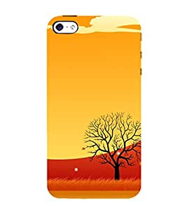 99Sublimation Animated Barren Tree 3D Hard Polycarbonate Back Case Cover for Apple iPhone 5