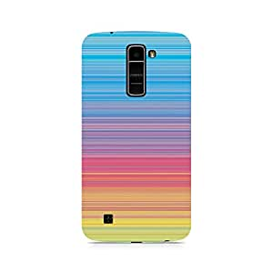 Ebby Color Linear Hues Premium Printed Case For LG K10