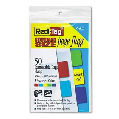redi-tag-8-pack-removable-page-flags-red-blue-green-yellow-purple-10-color-50-pack-product-category-
