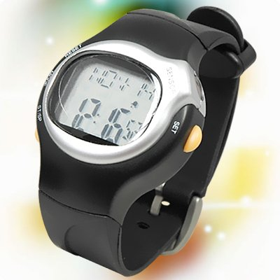 Pulse Heart Rate Calorie Counter Sports Monitor Watch