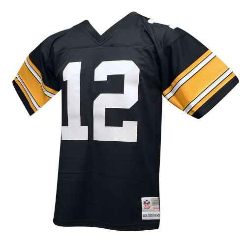 best service 5c198 32c69 Pittsburgh Steelers Mitchell & Ness 1976 Terry Bradshaw #12 ...