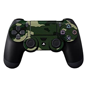 Protective Vinyl Skin Decal Cover for Sony PlayStation DualShock 4 Controller Sticker Skins Green Camo
