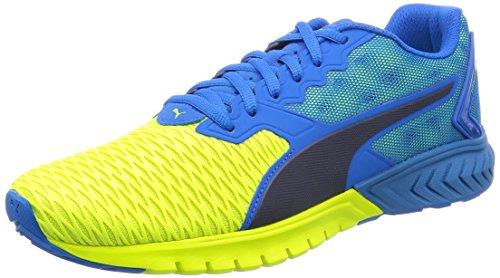 Puma Ignite Dual Scarpa da Running, colore Blu (BLUE/YELLOW 02BLUE/YELLOW 02), taglia40 EU (6.5 UK)