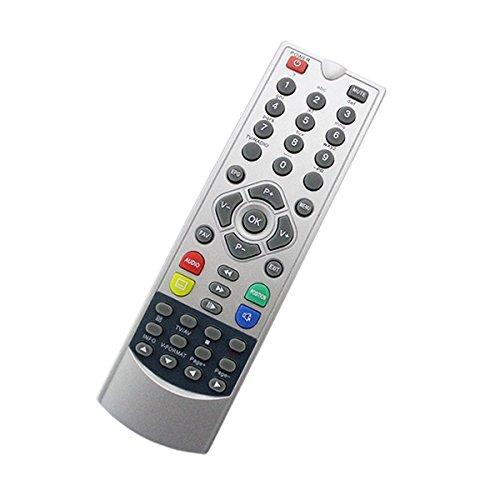 Ersatz-Fernbedienung für Receiver : Smart : MX 92 HDTV Sat Receiver - frustfreie 1 zu 1 Bedienung