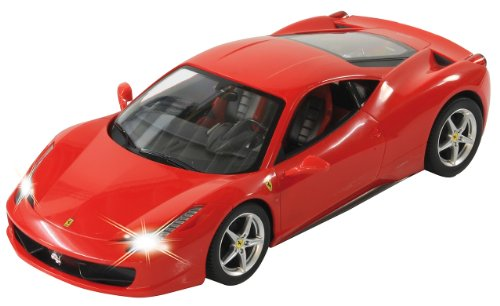 Jamara 404305 – Ferrari 458 Italia radiocomandata, con telecomando, scala 1:14,…