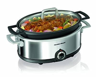 Hamilton Beach Premiere Cookware 5-1/2-Quart Slow Cooker by Hamilton Beach
