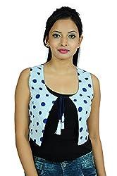 Goodwill Impex Cotton White sleeveless Jacket Size: _XXL