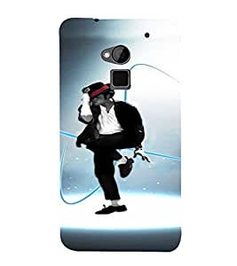 PrintVisa Dance Michael Jackson 3D Hard Polycarbonate Designer Back Case Cover for HTC One Max