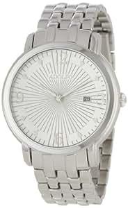 ADOLFO Men's 31023A Round Face Calendar Sun Dial Watch