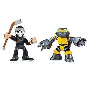 Teenage Mutant Ninja Turtles Teenage Mutant Ninja Turtles Pre Cool Half Shell Heroes Metalhead and Casey Jones Figures