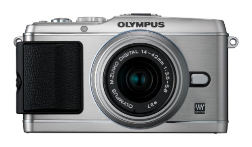 Olympus Pen E-P3 Compact System Camera - Silver (Includes M.ZUIKO Digital 14 -42mm II R Lens)