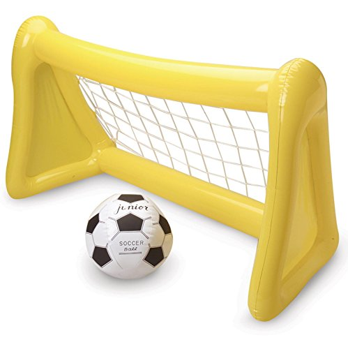 Official Costumes Inflatable Soccer Goal with Ball