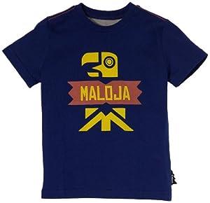 Maloja Tumbesl T-Shirt pour enfant Bleu bleu cobalt m
