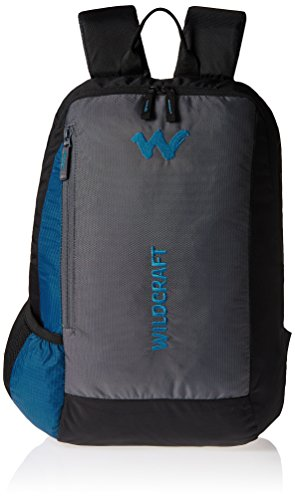 Wildcraft-Streak-Nylon-20-Ltrs-Blue-Laptop-Bag
