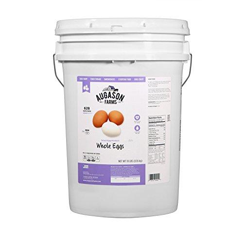 Augason Farms Dried Whole Egg Product 18 Pound Pail