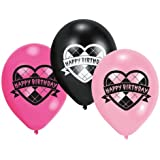 Amscan Monster High 6 Latex Balloons