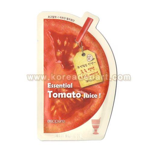 多娜嫺 ダナハン エコピュア エッセンシャル トマト ジュース シートマスク