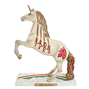 """Trail of Painted Ponies """"Follow Your Dreams"""" Unicorn Figurine 9in"""