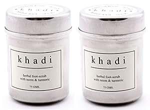 Khadi Herbal Foot Scrub with Neem and Turmeric