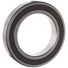 WJB 6000-2RS Series Deep Groove Ball Bearing, Double Sealed, Metric