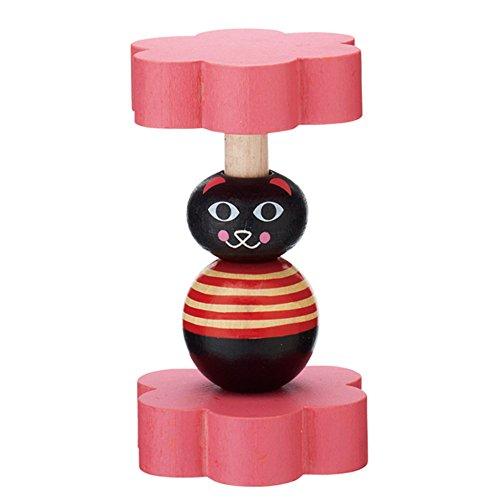 MARK'STYLE TOKYO Ingela P Arrhenius Mini Rattle Cat