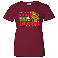 Merry Hump Day Christmas Camel Women's T-Shirt