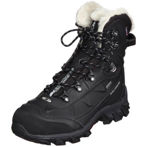 2367b9f2a Salomon Women s Nytro GTX W Snow Boot Black 7 5 M US - John D. Dempstes