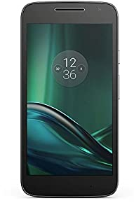 Moto G4 Play - Smartphone de 5 (Dual SIM, 4G, Cortex-A53, RAM de 2 GB, memoria interna de 16 GB, cámara de 8 MP, Android 6), color negro
