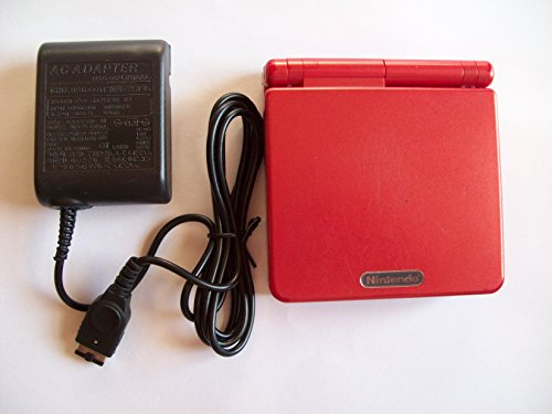Nintendo Game Boy Advance SP AGS-101 - Flame Red (Gameboy Advance Sp 101 Screen compare prices)