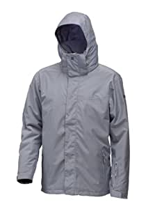Quiksilver Men's TOWER GORE INS JKT-Tower Gore INS Snow Jackets - Grey, XX-Large