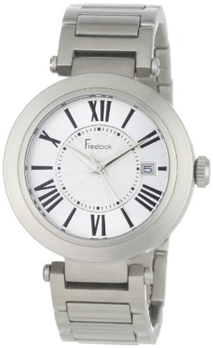 Freelook Women's HA1234M-4A Cortina Roman Numeral Matte Stainless Steel  Watch