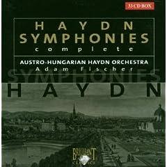 Haydn - Intégrale des symphonies
